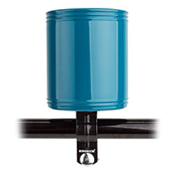 Blue cup holder attachment