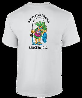 Galveston Fishing Charter Company short sleeve  shirt