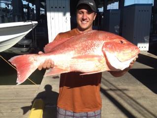 Texas Gulf Coast Red Snapper Season in Full Effect!