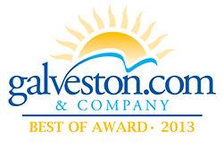 Galveston.com & Company Best of Award 2013