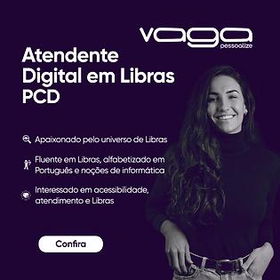 CARD DE VAGAS _ Site _ Atendente Digital