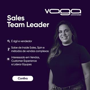 CARD DE VAGAS _ Site _ Sales Team Leader
