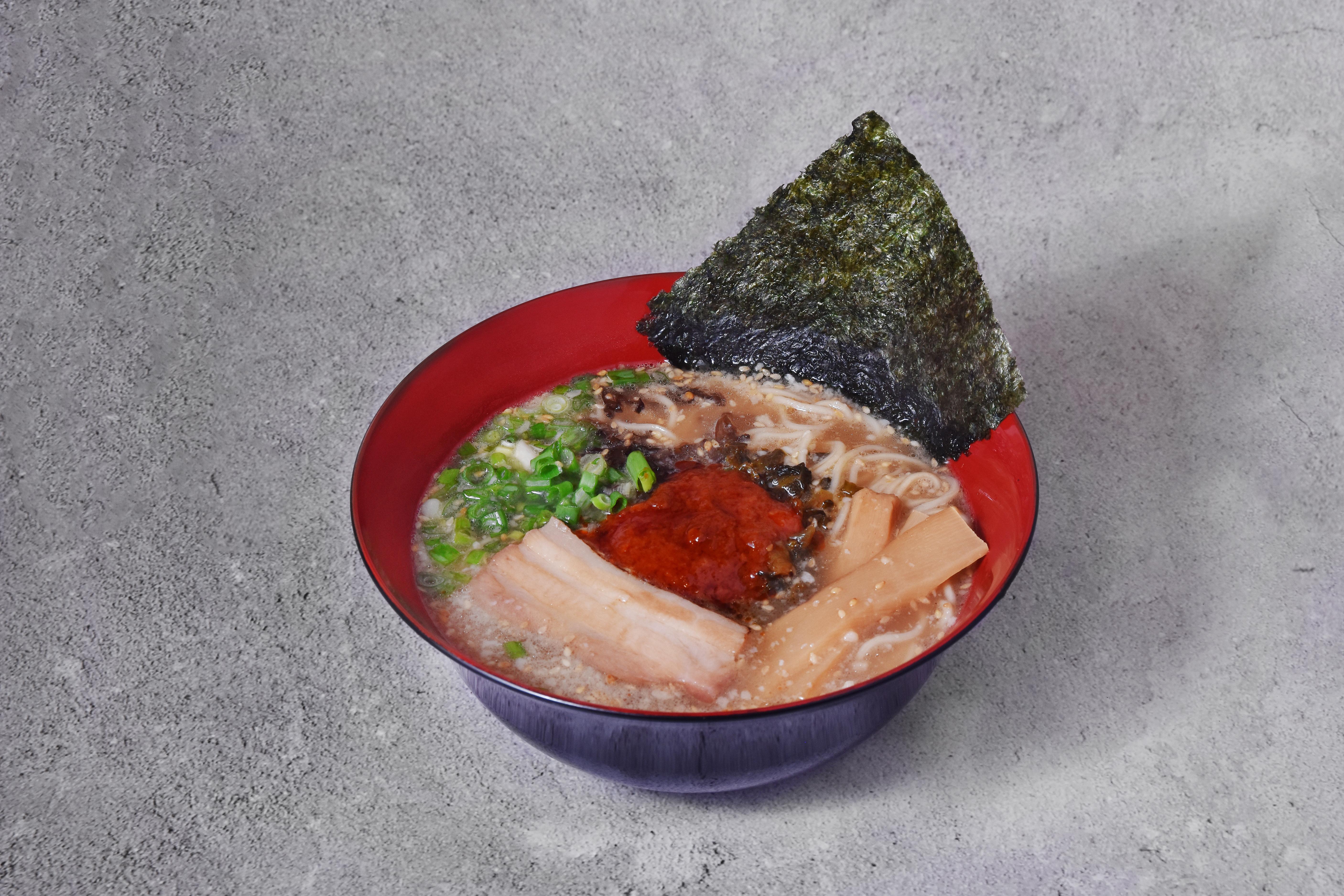 Red Spicy Tonkotsu Ramen
