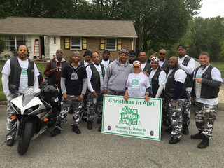 Christmas in April 2016 giving back