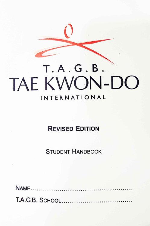 Student Handbook - White Belt to Black Stripe