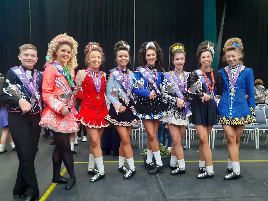 Glamourous Irish Dancers for your event