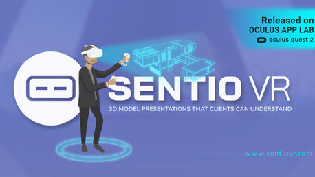 SENTIO VR launches first-ever Oculus Quest 2 app for Architects to engage clients