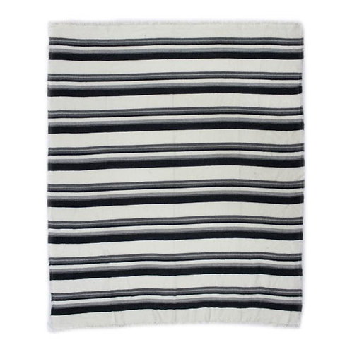Allfresco Throw, Blue Stripes