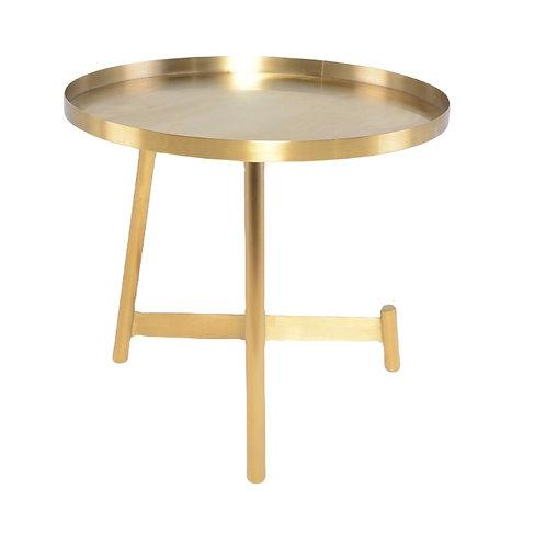 Landon Side Table, Gold