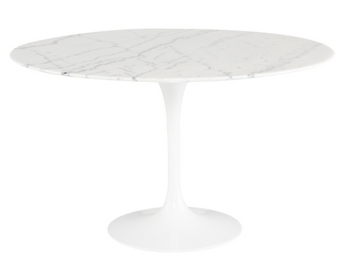 Cal Dining Table, White