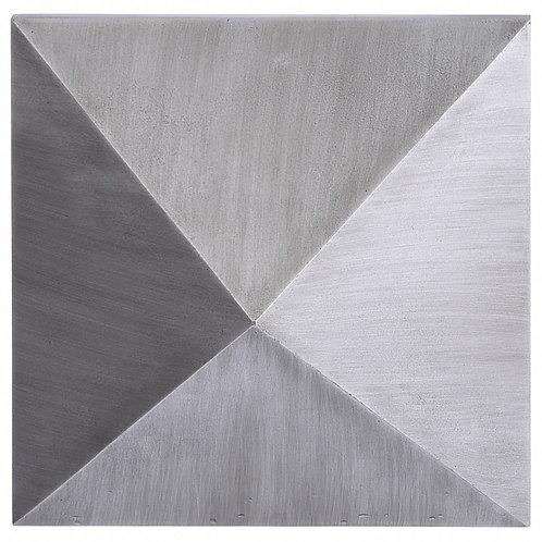 Dash Wall Plaque, Silver