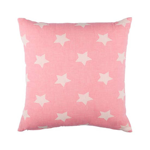 Via Seven - Starbright Cushion Cover-Pink