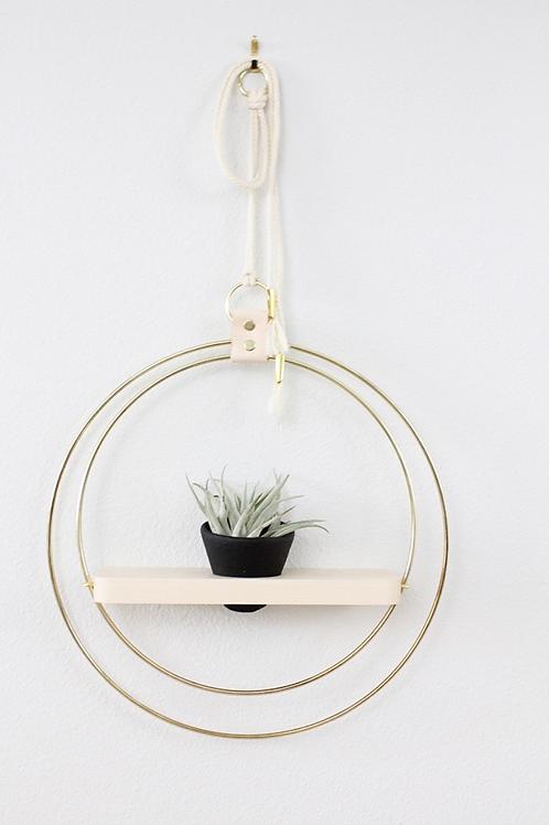 Braid & Wood Design Studio - Plant Shelf Black