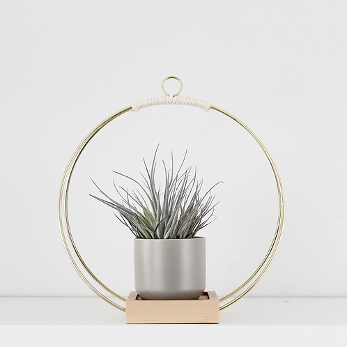 Braid & Wood Design Studio - Plant Hanger (Medium)