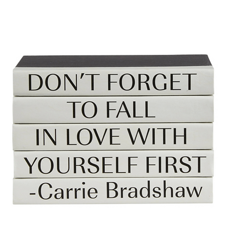 """5 Vol. """"Don't Forget ..."""" Quote"""