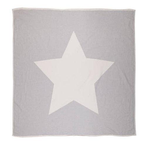 Via Seven - Guiding Star Throw - Essential Grey