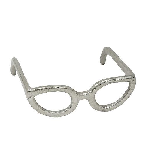 Glasses Sculpture, Silver
