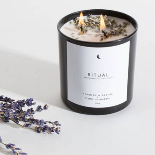 Nourish & Refine - Ritual Hand Poured Soy Candle - 10oz