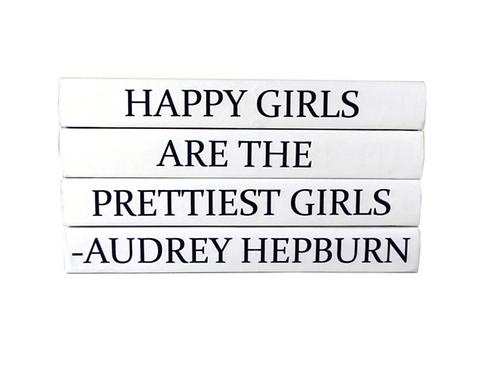 "4 Vol. ""Happy Girls"" Quote"