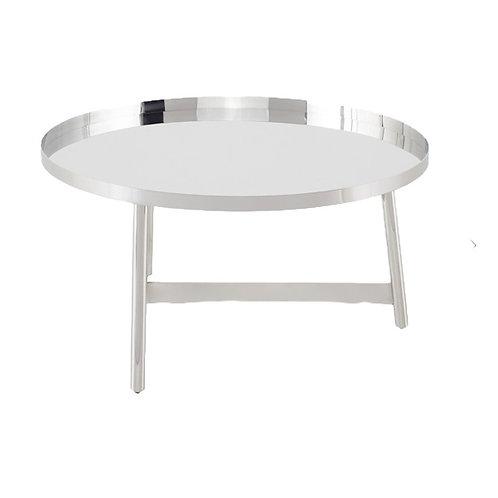 Landon Coffee Table, Silver