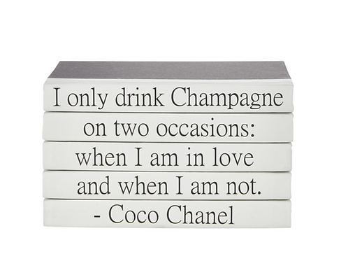 """5 Vol. """"I Only Drink ..."""" Quote"""