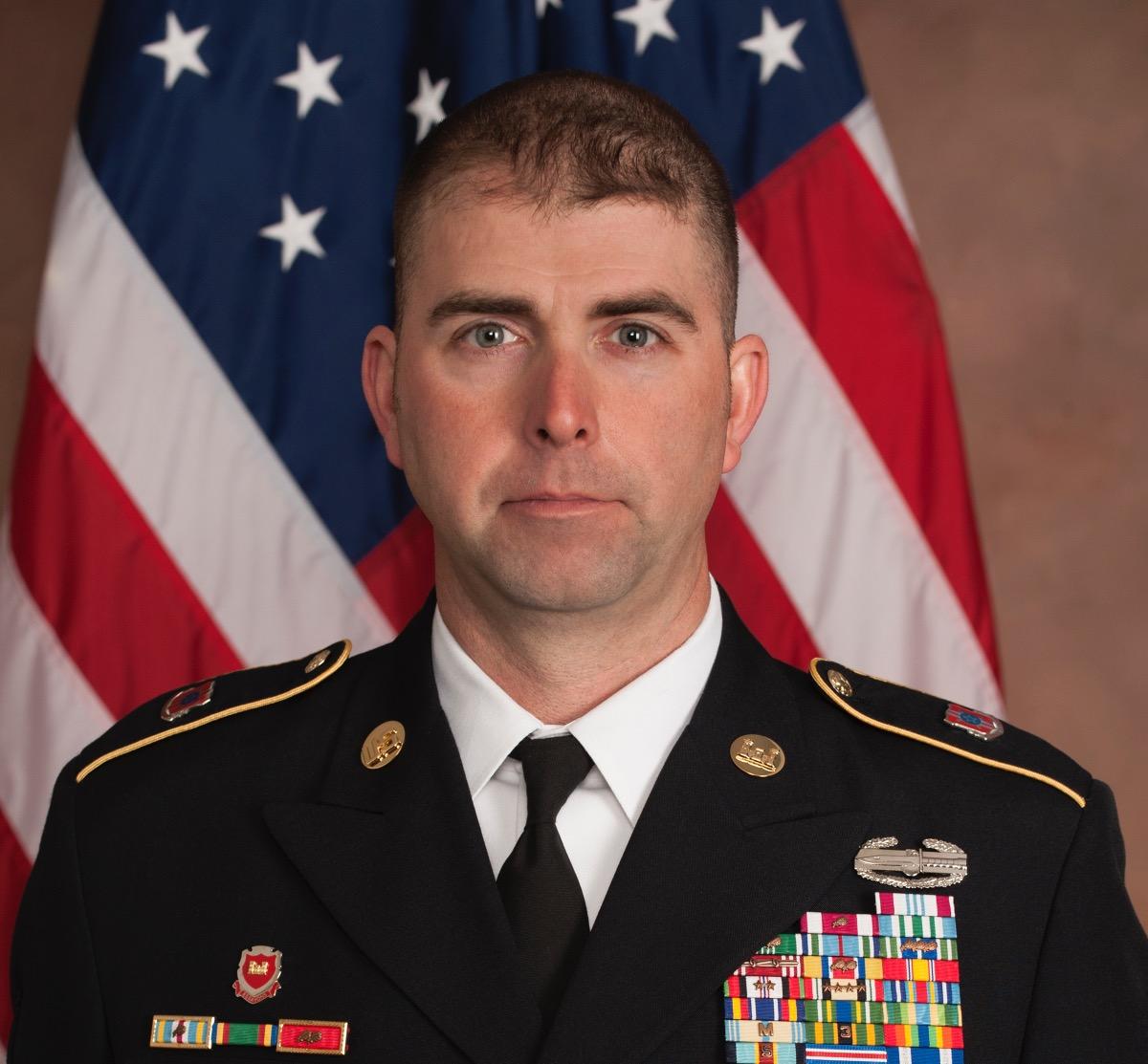 Master Sergeant Daniel R. Auxier