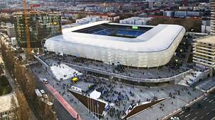 National Football stadium in Bratislava