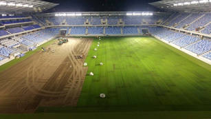 National Football Stadion in Bratislava - Slovakia    On this project, we ensured the assembly of the main electro pumps and the installation of main distribution systems with 200pcs sprinklers