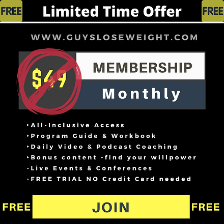 Membership Price - Guys Lose Weight - $4