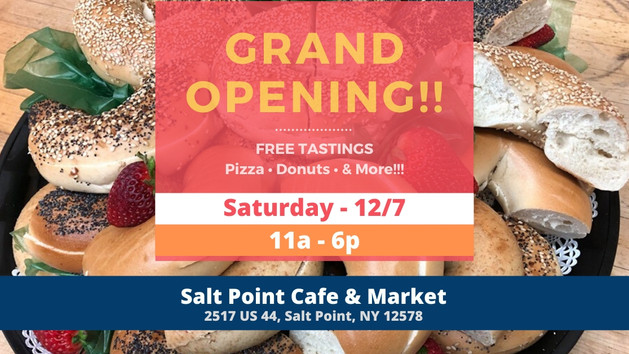Salt Point Grand Opening Banner Creted by Empower Web Marketing Agency