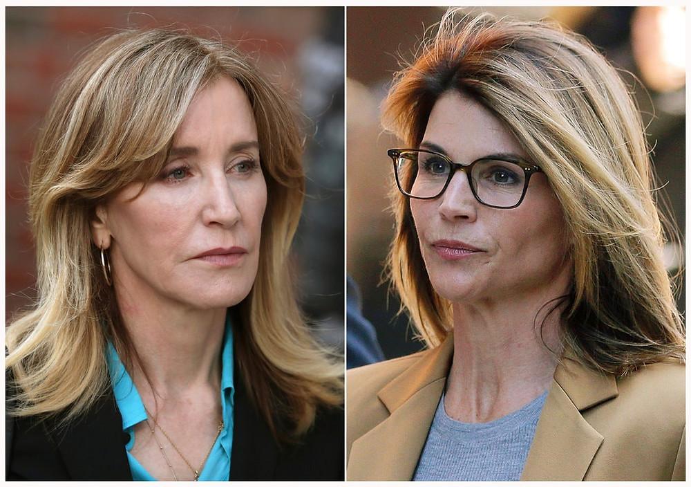 Felicity Huffman & Lori Loughlin. Credit - Associated Press