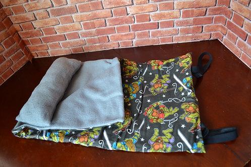 Sleeping Bag -Cartoon Turtle Hero