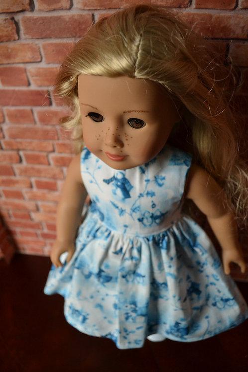 Winter Wonderland Dress for 18 inch Dolls