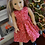 Thumbnail: Red Gingerbread Dress for 18 inch Dolls