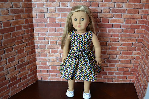Glittery Egg Doll Dress for 18 inch Dolls