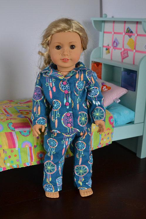 Dreamcatcher Pajamas for 18 inch Dolls
