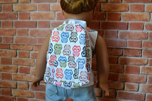 BACKPACK - Autumn Owls