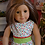 Thumbnail: Christmas Polka Party Dress for 18 inch Dolls