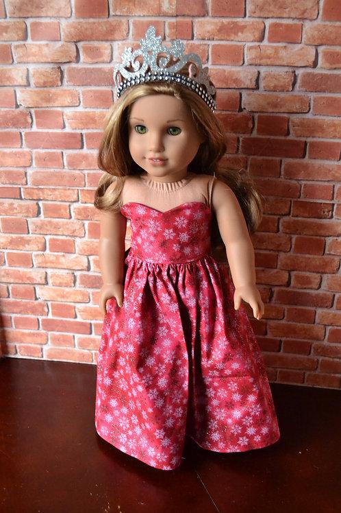 Garnet/Red Ice Princess for 18 inch Dolls