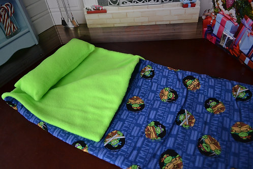 Sleeping Bag - Turtle Power