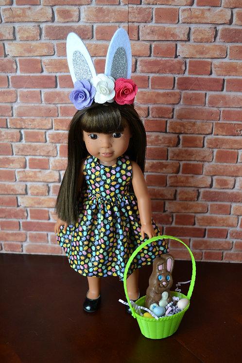 Glittery Eggs Doll Dress for 14.5 inch Dolls