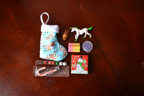 Holiday Stocking - Reindeer Pals