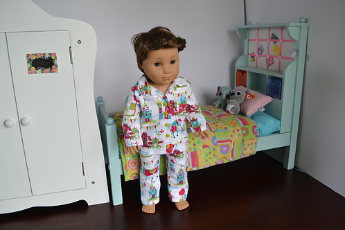 Knights Tale Pajamas for 18 inch Dolls