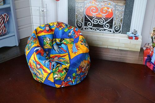 Bean Bag Chair - Justice League Super Hero