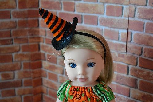 Witch Hat Elastic Headband