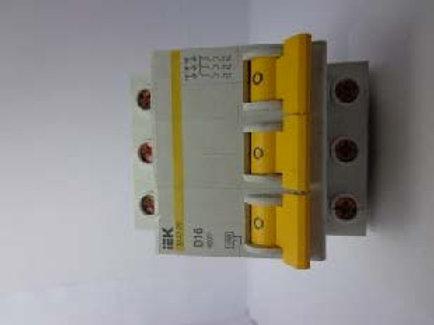 IEK ВА47-29-3Р D16 400V Modular circuit breaker