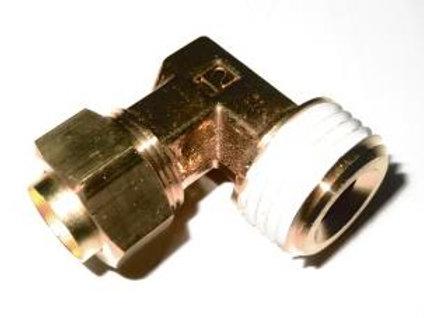 Соединение угловое резьбовое 12 R 1/2 KFL12B-02S