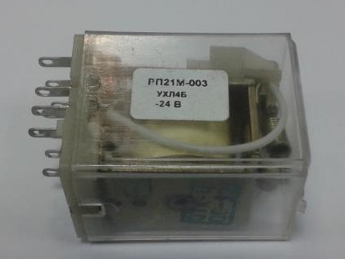 Реле промежуточное РП21М-003 УХЛ4Б 24В пост.ток