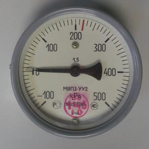 Мановакуумметр МВПЗ-УУ2-500.0/220кРА-ОШ-G1/2-Тюм