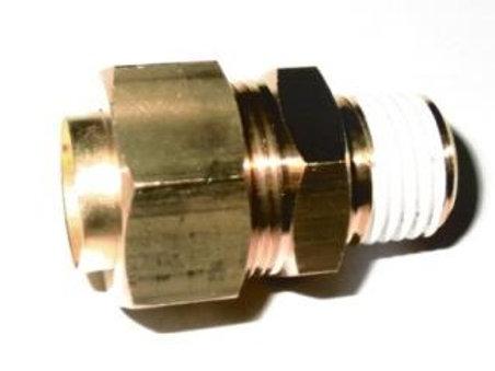 Соединение прямое резьбовое 12R1/4 KFH12B-02S